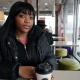 Princess Wright, 22, was fired from her job at a McDonald's in Brooklyn for missing a shift. Photo Credit: Michelle V. Agins/The New York Times